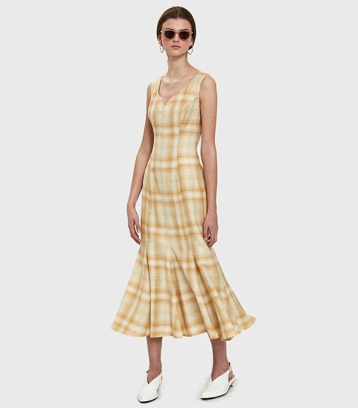 Long Paneled Dress