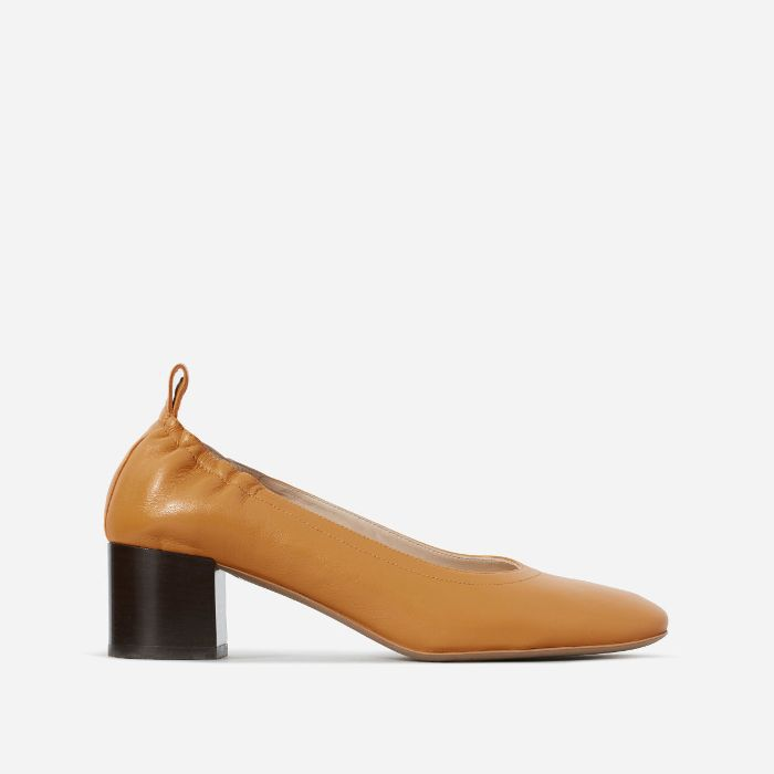 Women's Pump Heel by Everlane in Honey Stacked, Size 11