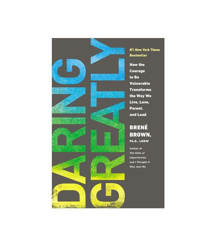 Chaqueta libro Daring Greatly de Brené Brown