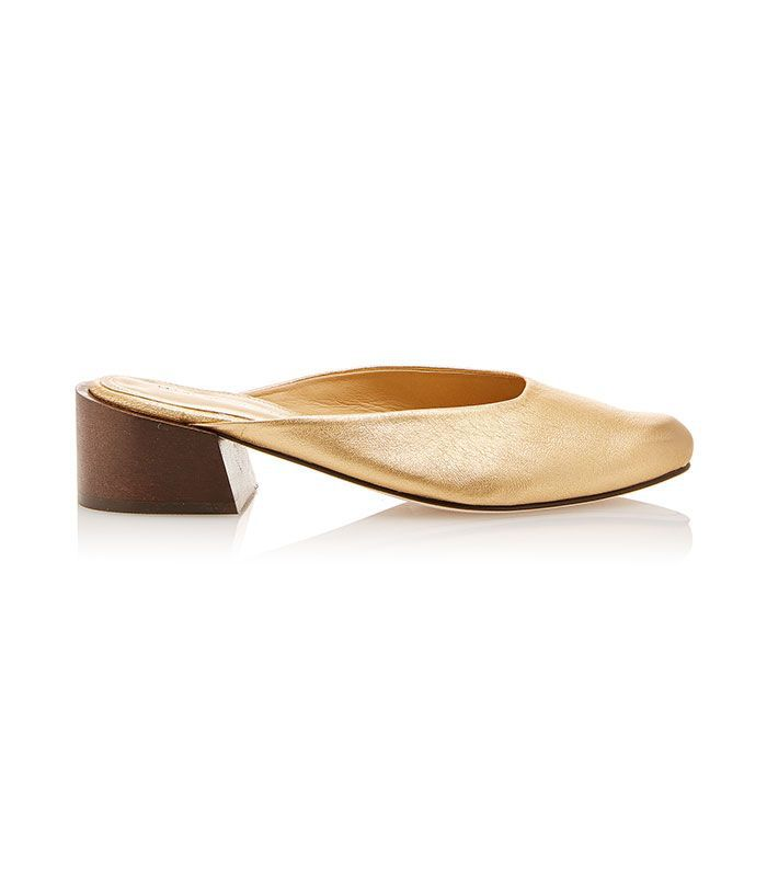 Leblon Leather Mules