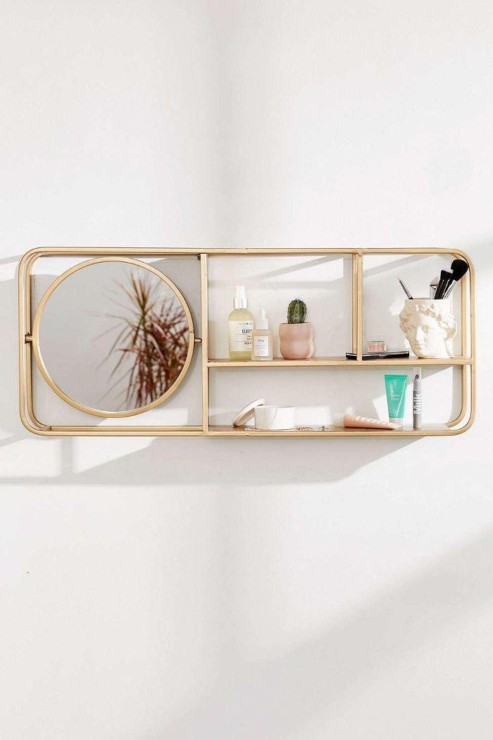 Lottie Mirror Shelf