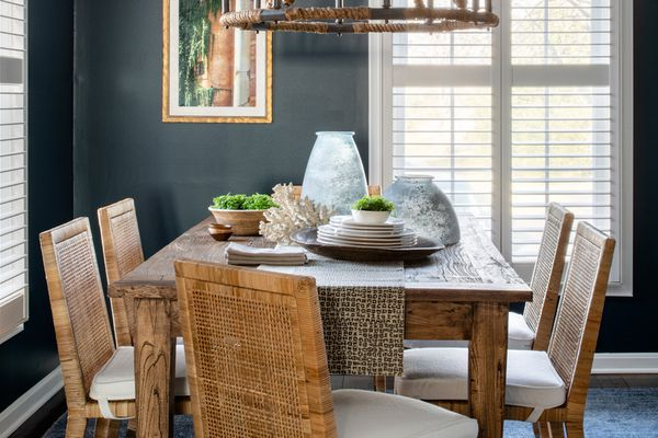 Liz Mearns home tour - dining room