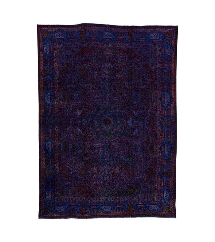 Apadana Vintage Overdyed Tabriz Rug