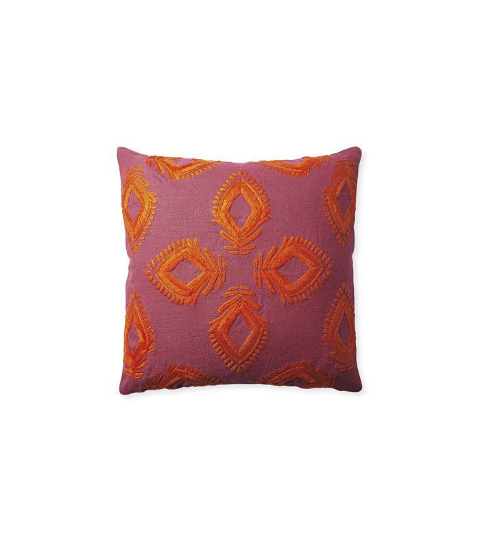 Leighton Pillow Cover - Fuchsia