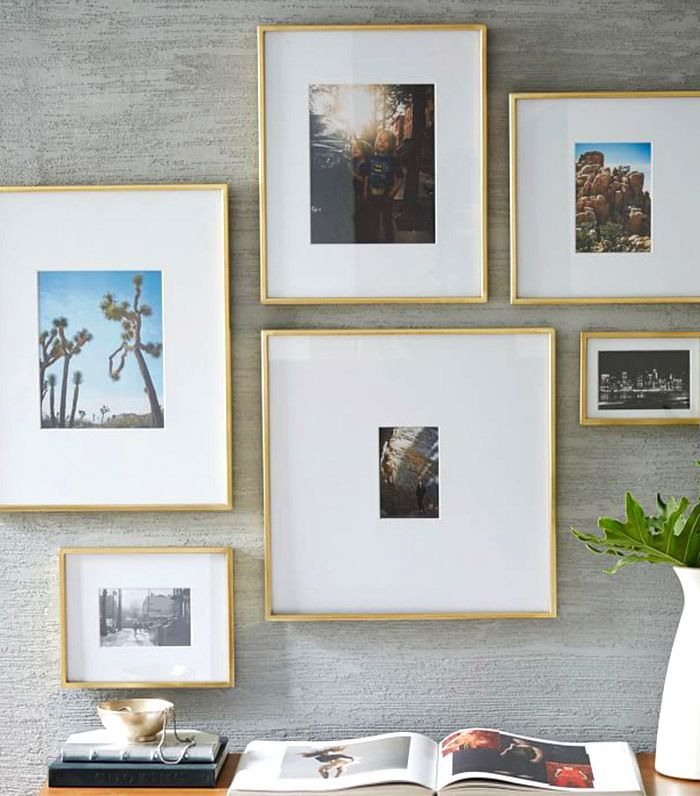 West Elm Polished Br Gallery Frames 29