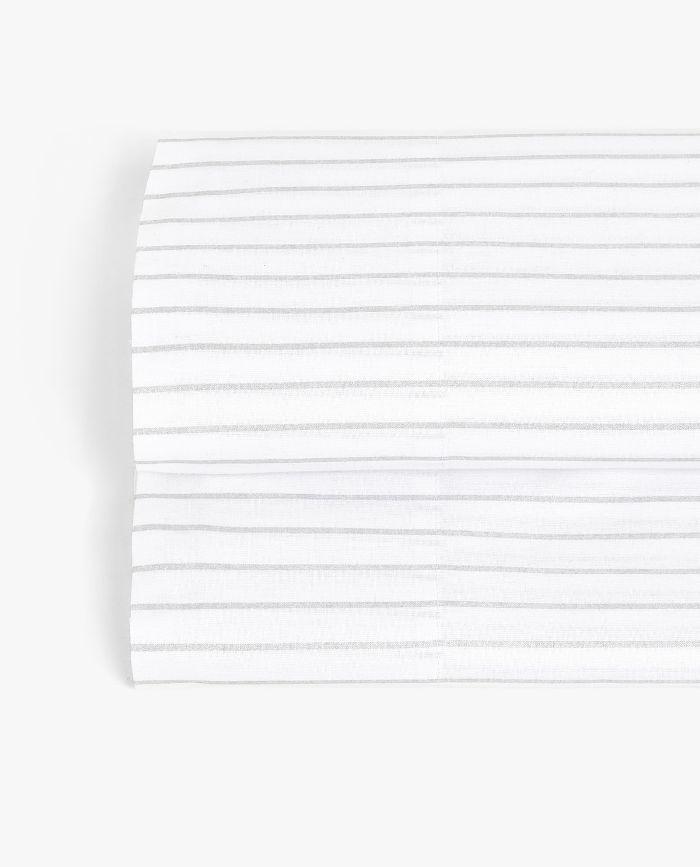 Zara Home Metallic Stripes Flat Sheet