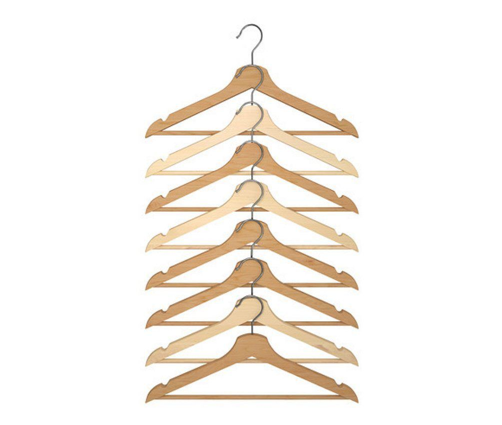 Hangers—IKEA bedroom storage