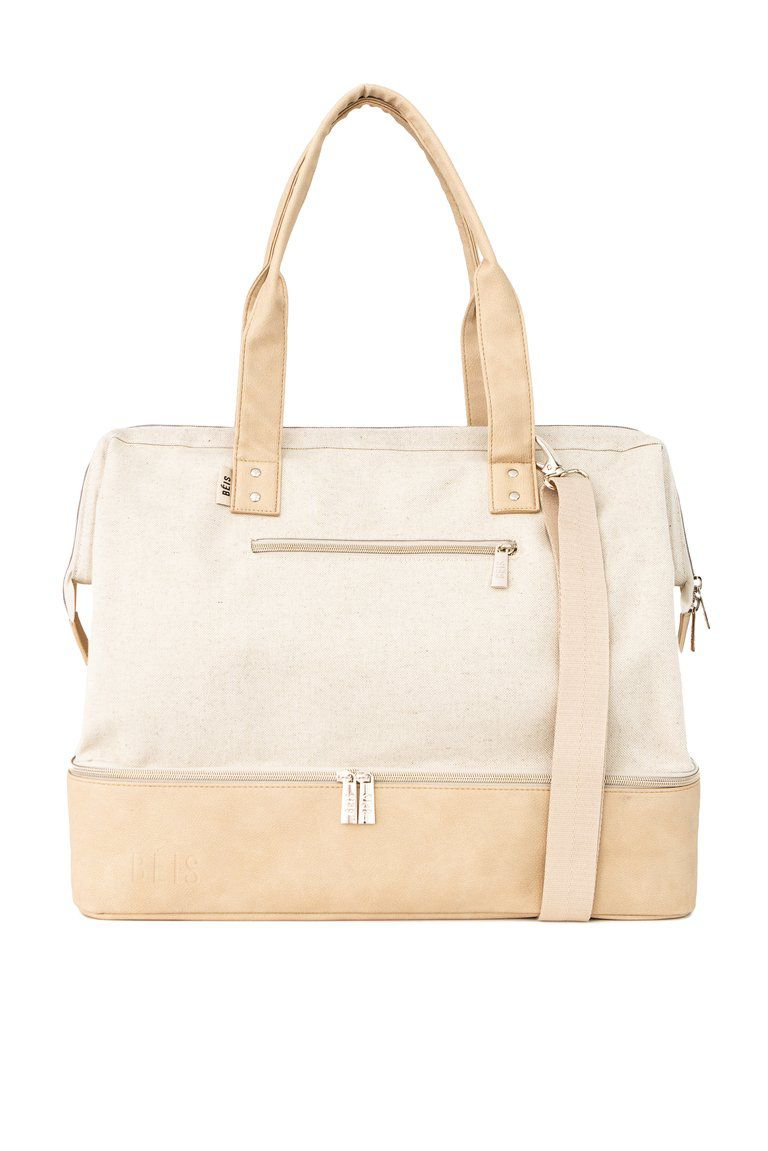 The Weekender in Beige
