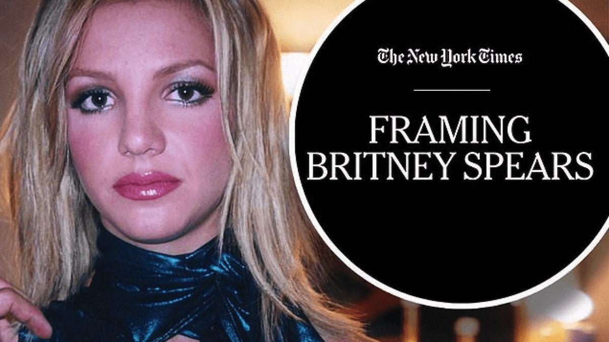 Framing Britney Spears poster