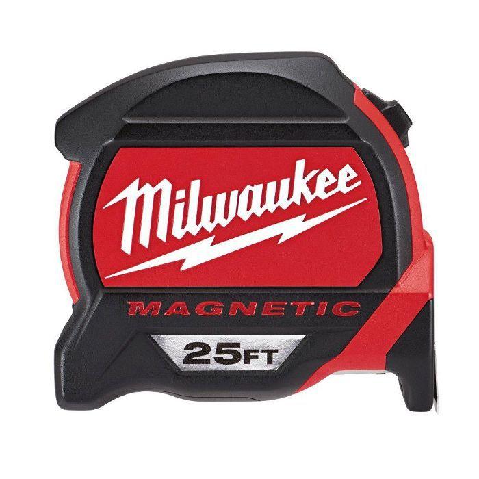 Cinta métrica magnética premium de 25 pies de Milwaukee: diseños de pared de la galería