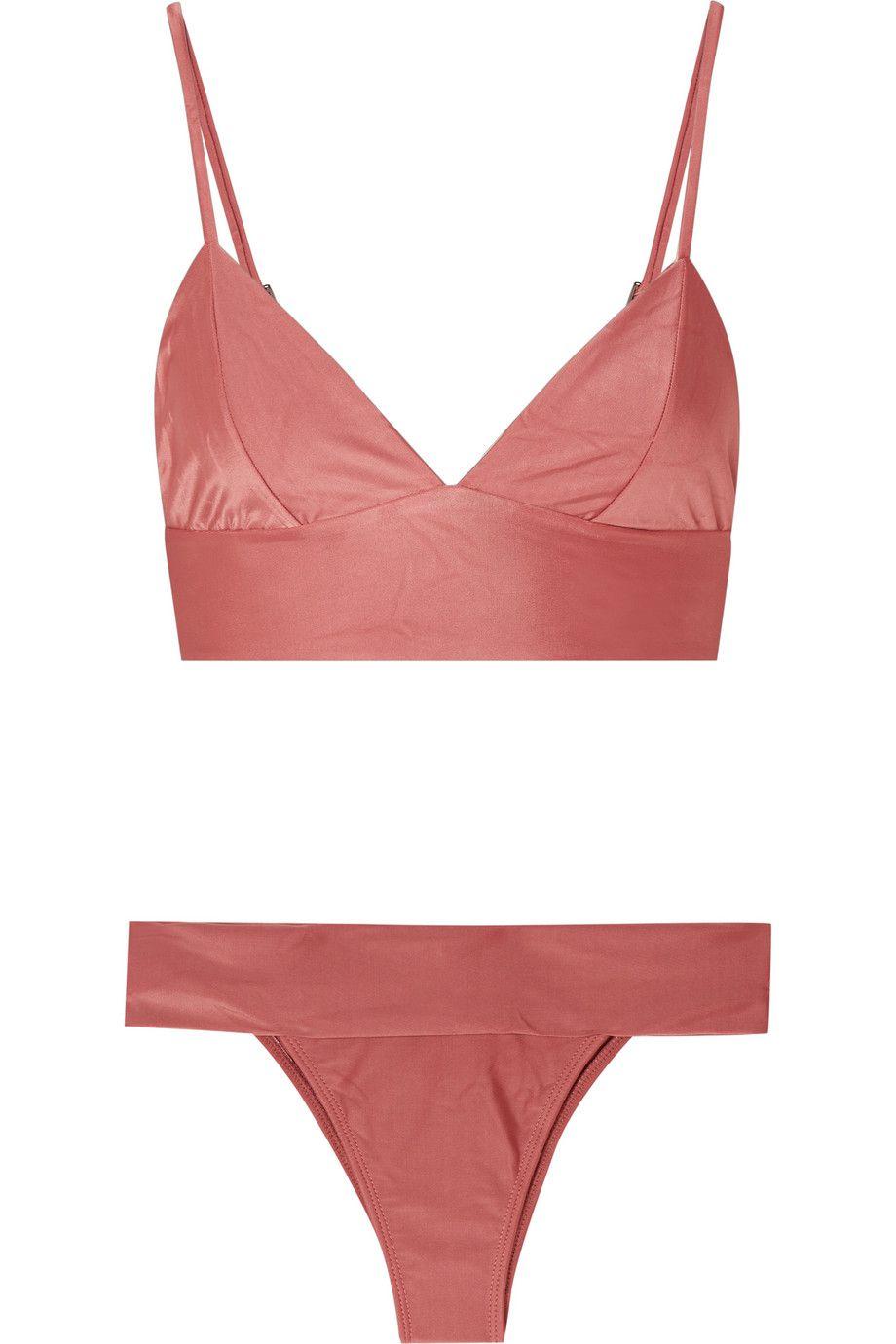 pink bathing suit