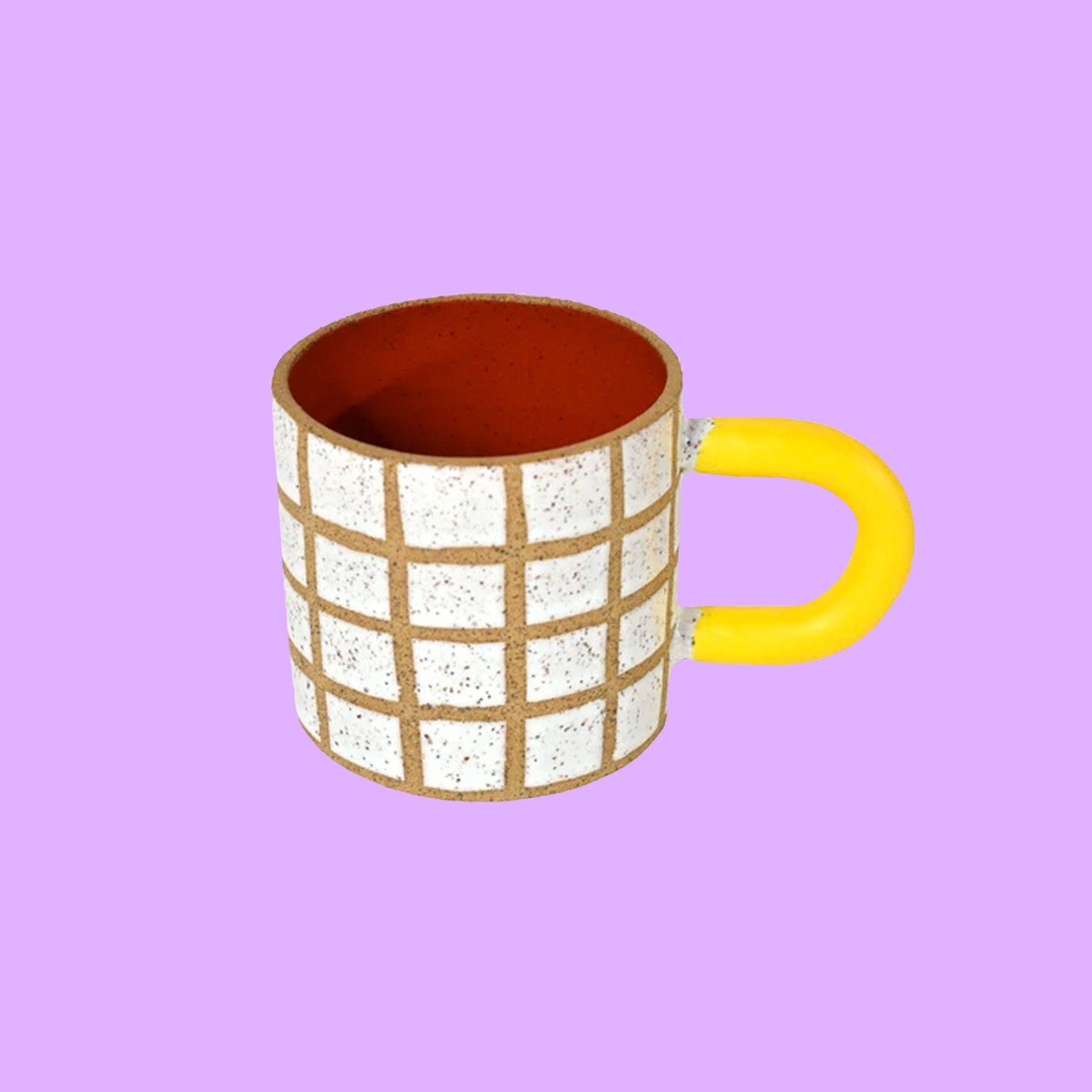Primary Grid Mug