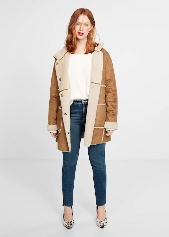 Violeta Faux-fur lining coat