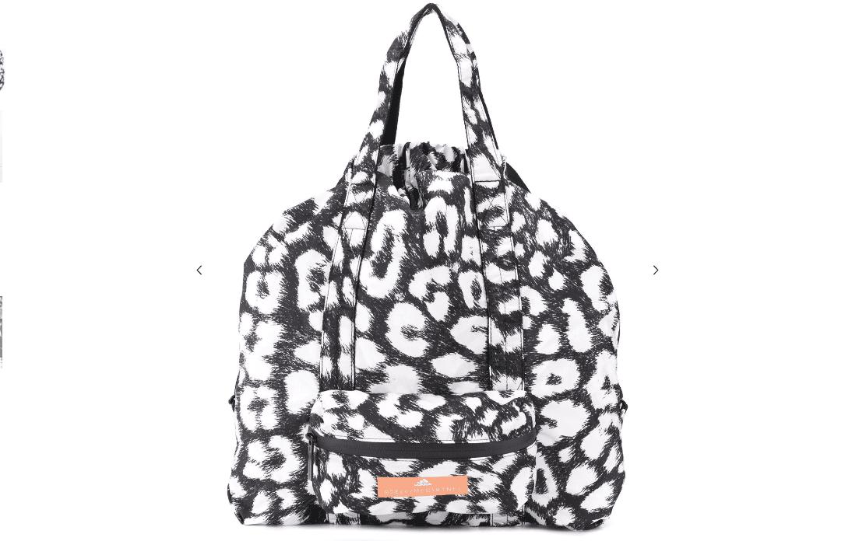 Adidas by Stella McCartney Leopard Print Gym Bag