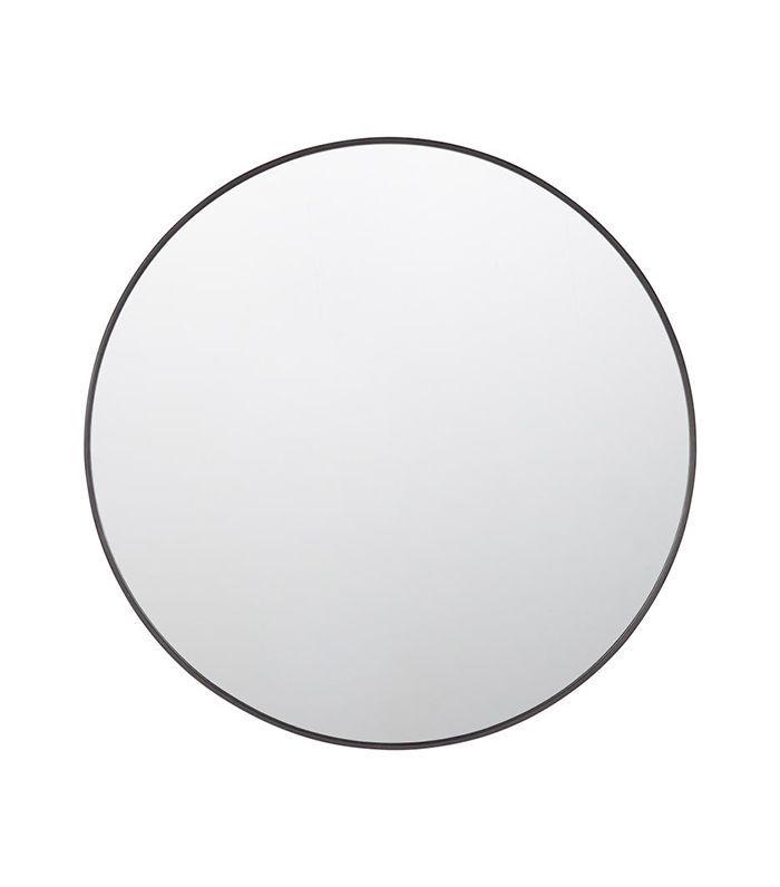 """Espejo con marco de metal de 30 """"- Redondo"""