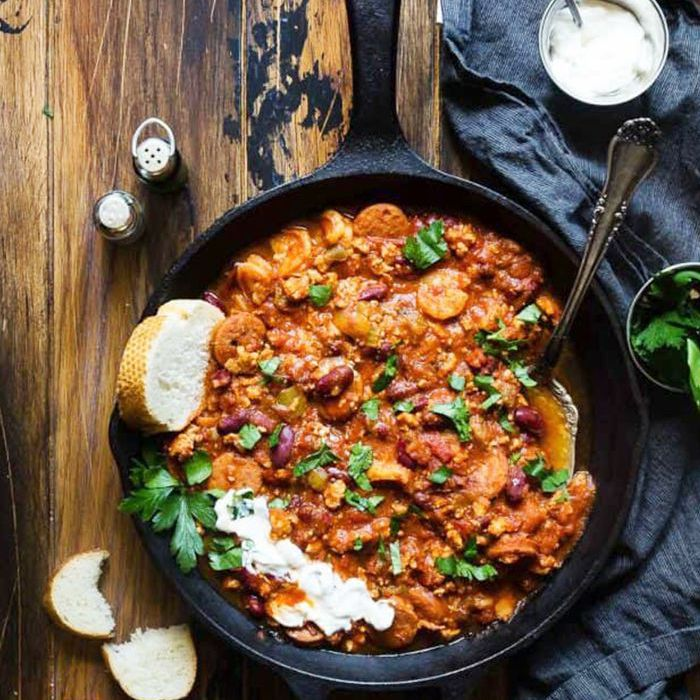 Ideas para la cena sureña - Cajun Instant Pot Chili