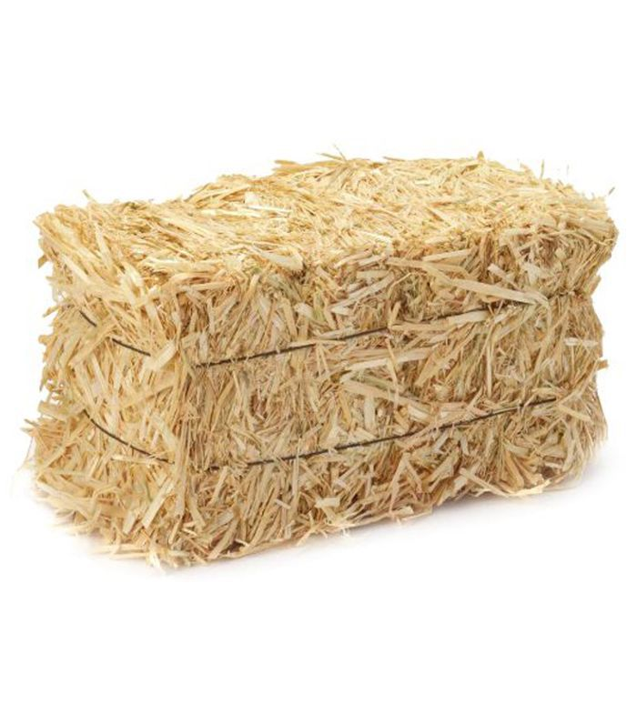 Straw Bales, 2 1/2-Inch-by-1 1/4-Inch-1-Inch Bale