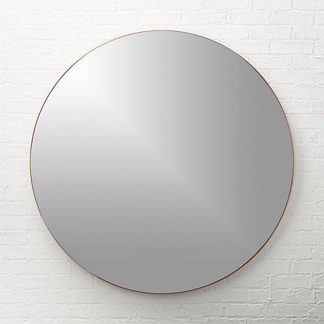 CB2 Infinity Round Mirror