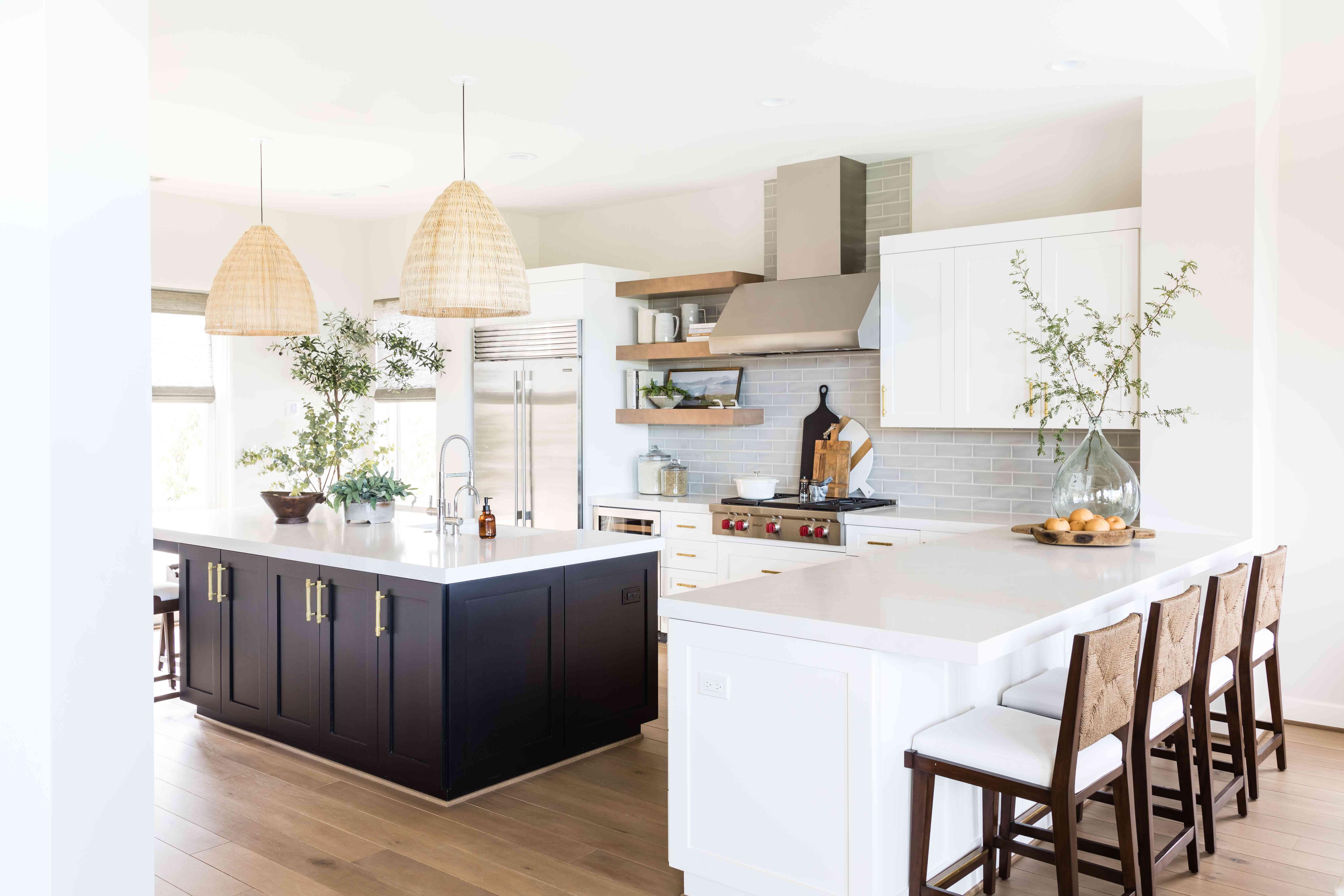 visita a casa de interiores de sal pura - cocina