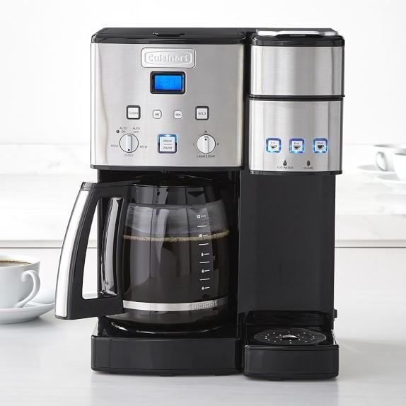 Cuisinart 12-Cup & Single Serve Coffeemaker