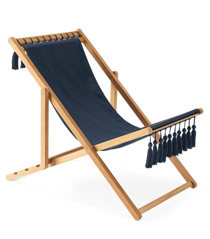 Sling Chair with Tassels