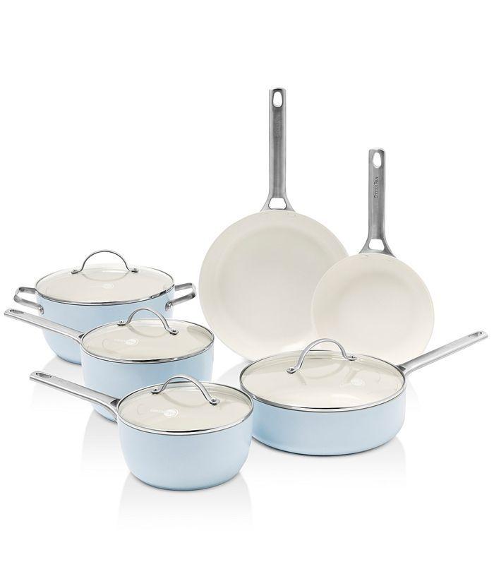 GreenPan Padova Ceramic Non-Stick 10Pc Cookware Set