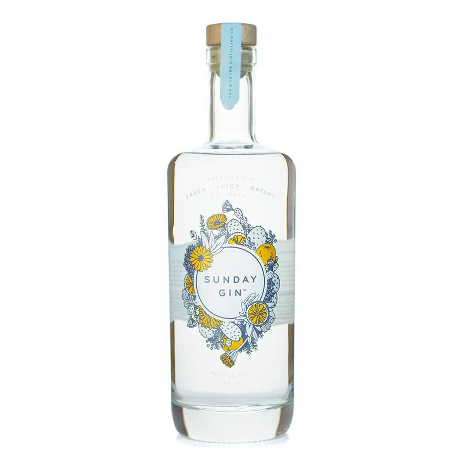Bottle of You & Yours Sunday Gin