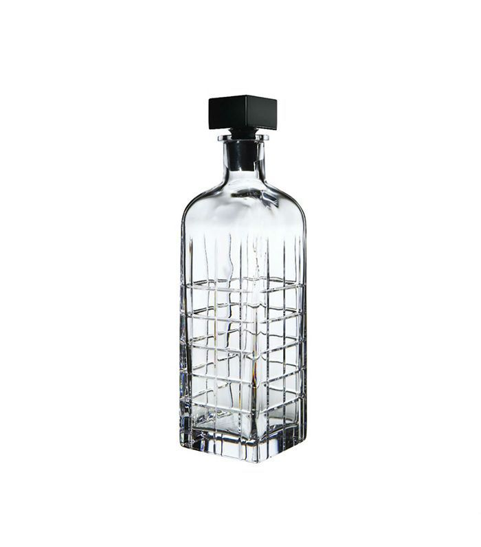 Orrefors Hand-Blown Crystal Decanter