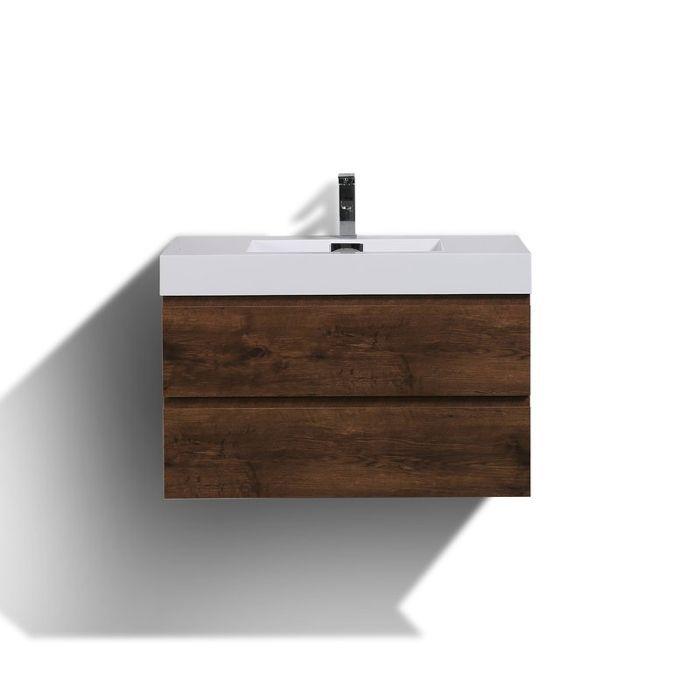 Sinope Wall-Mounted Single Bathroom Vanity Set