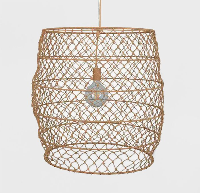 Project 62 and Leanne Ford Rope Net Pendant Lamp (Includes Energy Efficient Light Bulb)