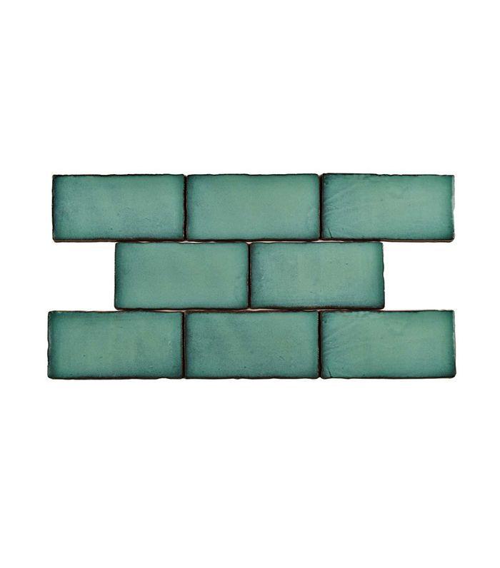 Merola Tile Antic Special Lava Verde Ceramic Wall Tile