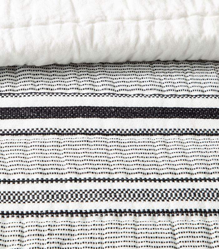 Hearth & Hand with Magnolia Texture Stripe Quilt