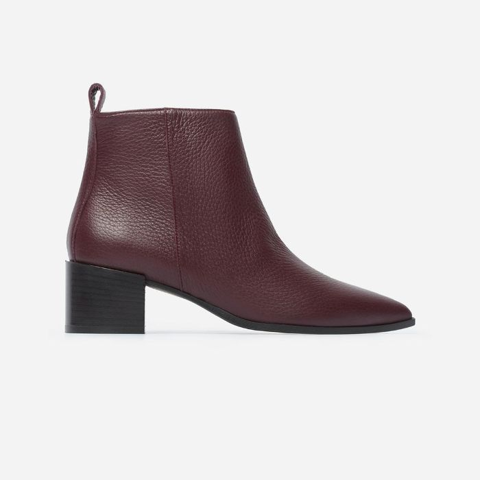 Women's Boss Boot by Everlane in Burgundy, Size 11