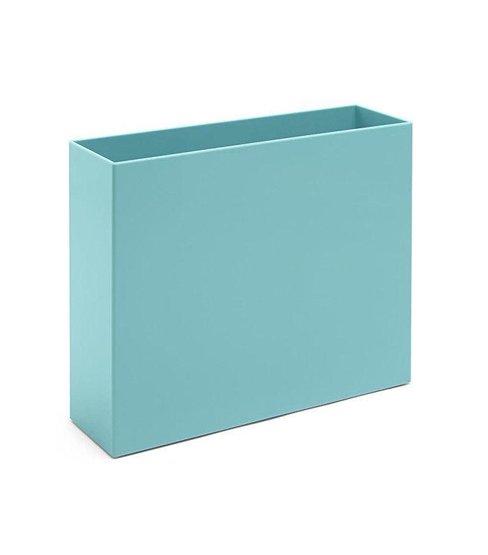 blue file box