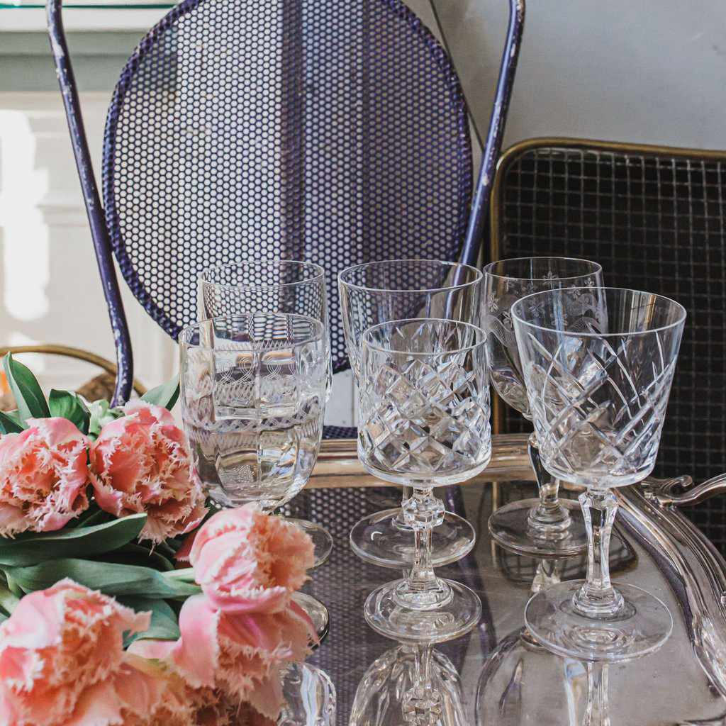 Madame de la Maison Mix & Match Wine Glasses