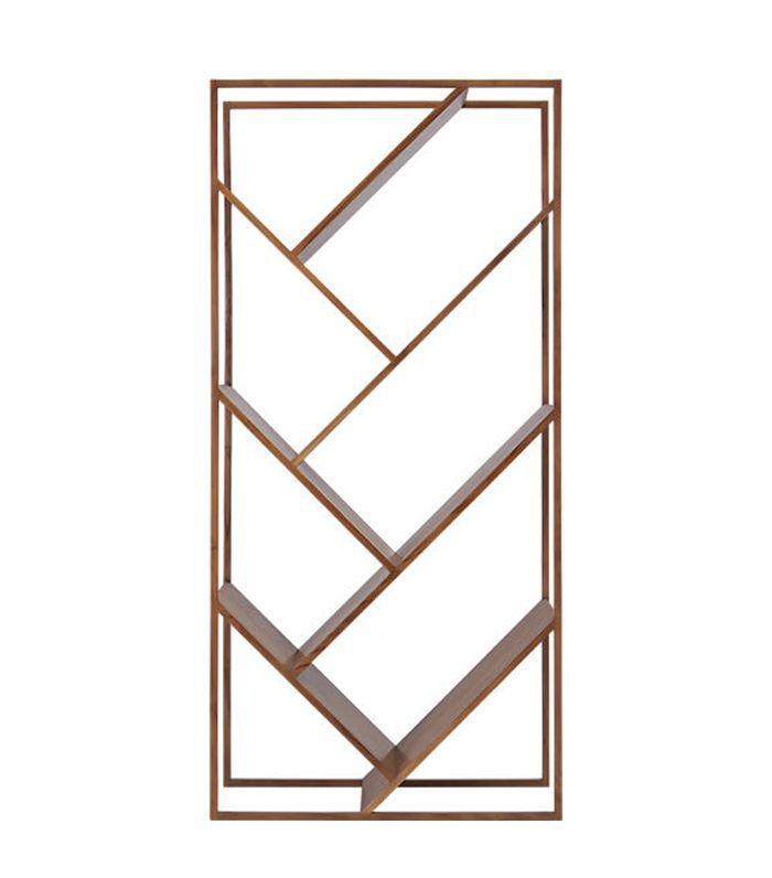 v bookcase-room divider