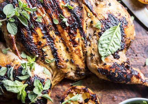 Lemon and Oregano Grilled Chicken Sunday Dinner Recipes