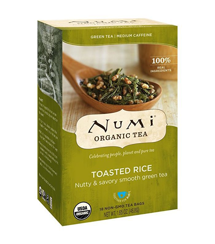 Numi Toasted Rice Full Leaf Sencha Green Tea