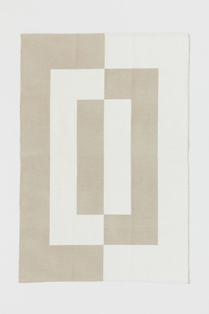 H&M Jacquard-Patterned Cotton Rug