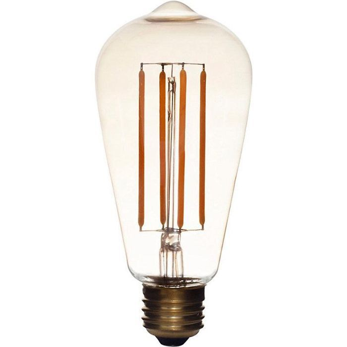 squirrel cage tinted LED bulb