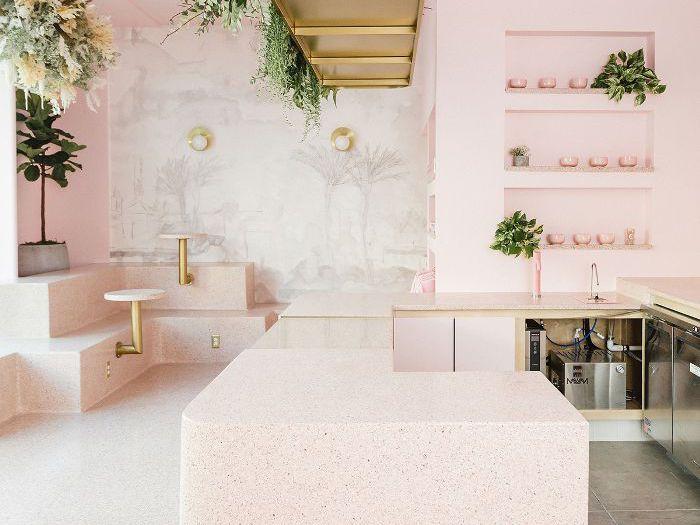 Inside A Millennial Pink Matcha Café In San Diego