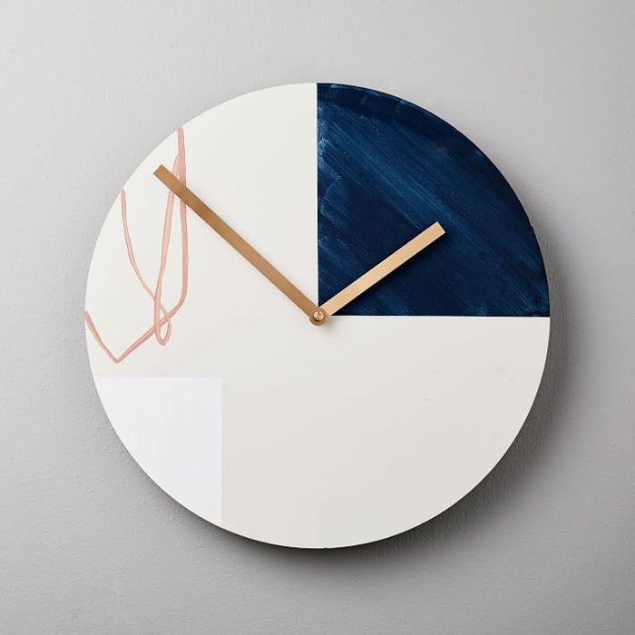 West Elm Moglea Scribble Clock