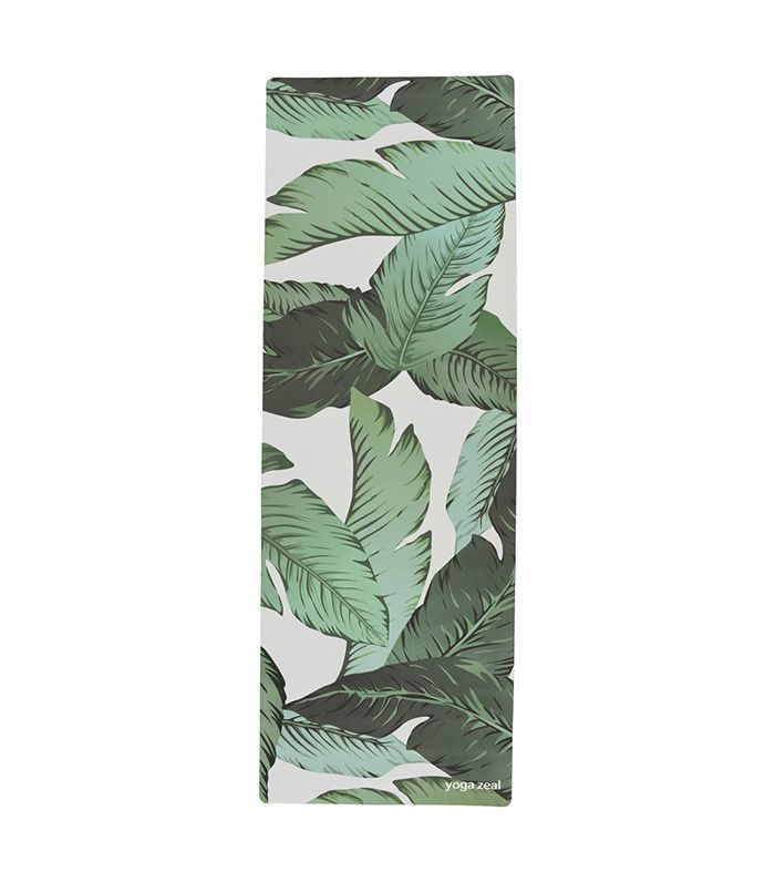 Yoga Zeal Banana Leaf Print Yoga Mat