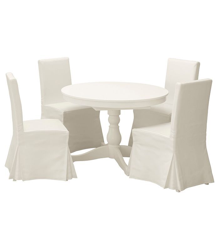 Ikea Ingatorp Henriksdal Table And 4 Chairs 705