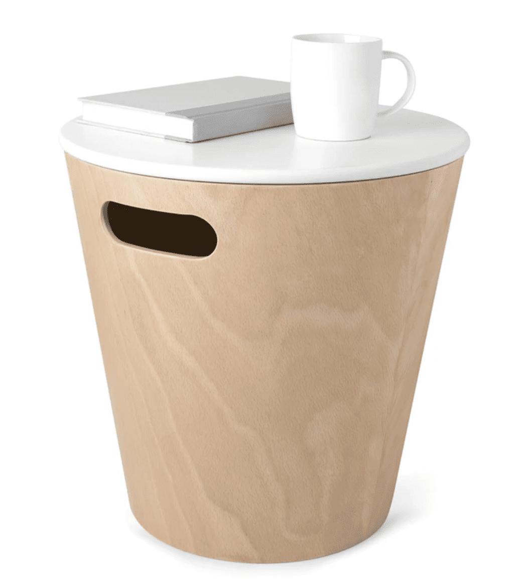 Umbra Woodrow Storage Stool