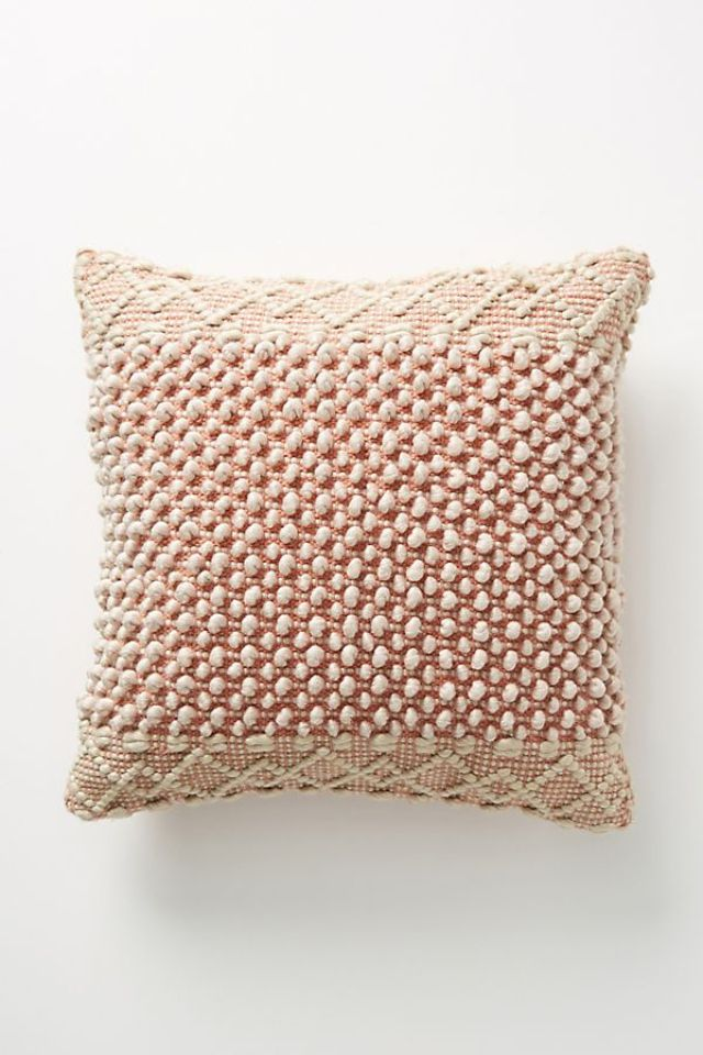 Joanna Gaines for Anthropologie Textured Eva Pillow