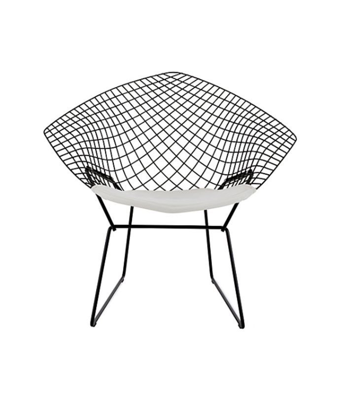 Bertoia Diamond Lounge Chair with Seat Pad