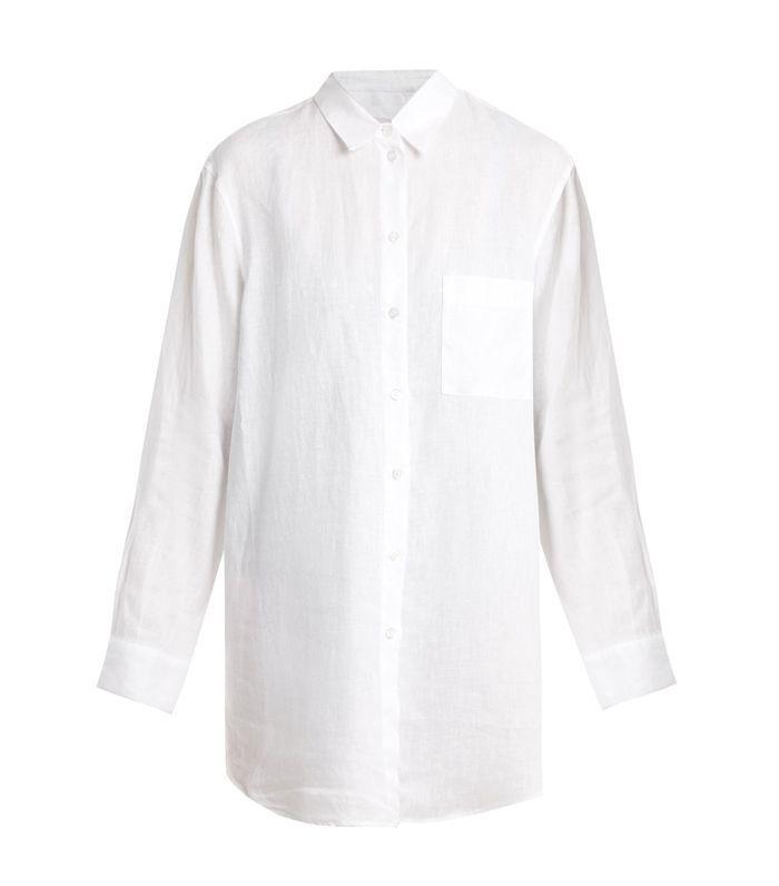 Boyfriend linen shirt