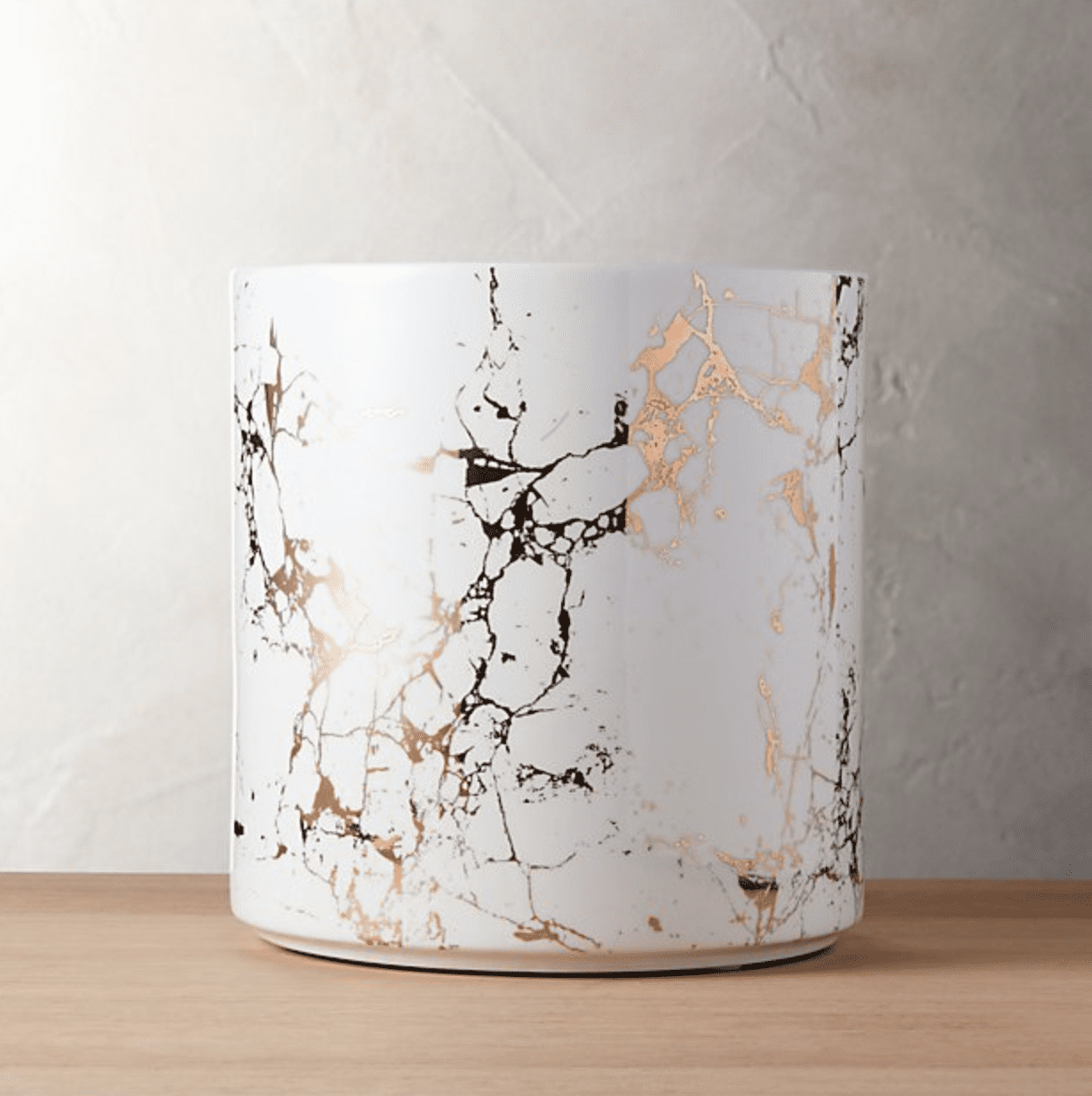CB2 Palazzo Medium Marbleized Planter