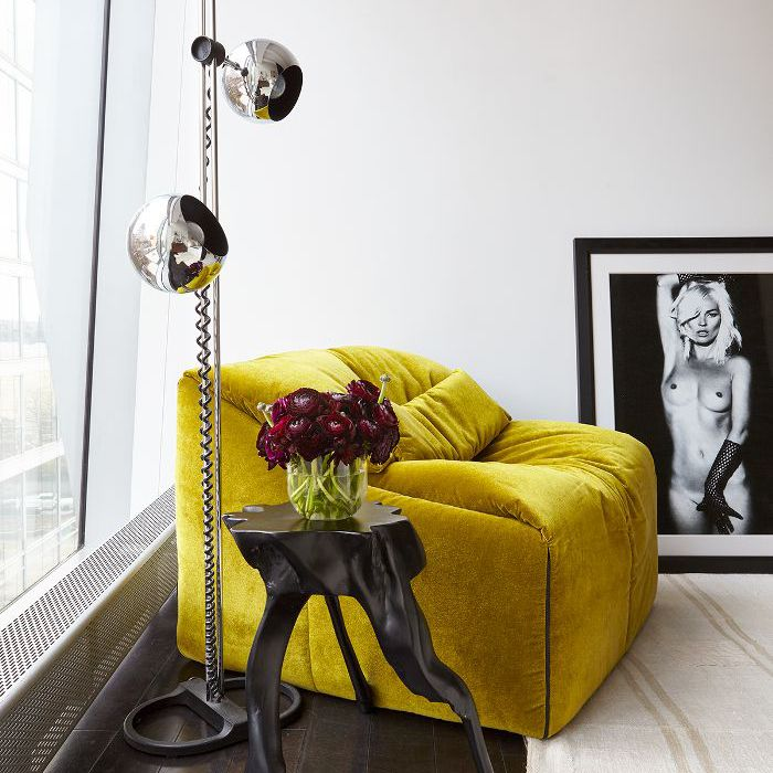 Jessica Schuster Home Tour—Yellow Chair